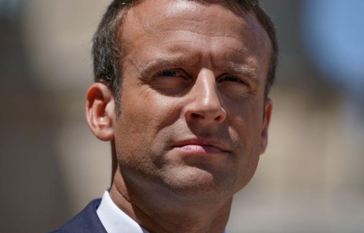 Emmanuel Macron à l'Elysée, à Paris, le 16 juin 2017. – Thomas SAMSON / AFP