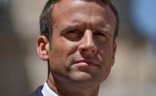 Emmanuel Macron à l'Elysée, à Paris, le 16 juin 2017.