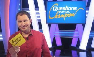 Jean-Philippe, gagnant de la plus grosse cagnotte de l'histoire de «Questions pour un champion», le 18 juin 2014.