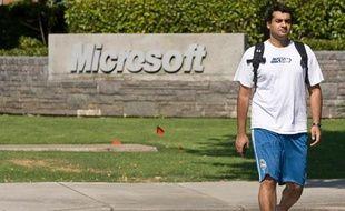 Le siège de Microsoft à Redmond, dans l'état de Washington le 29 juillet 2009