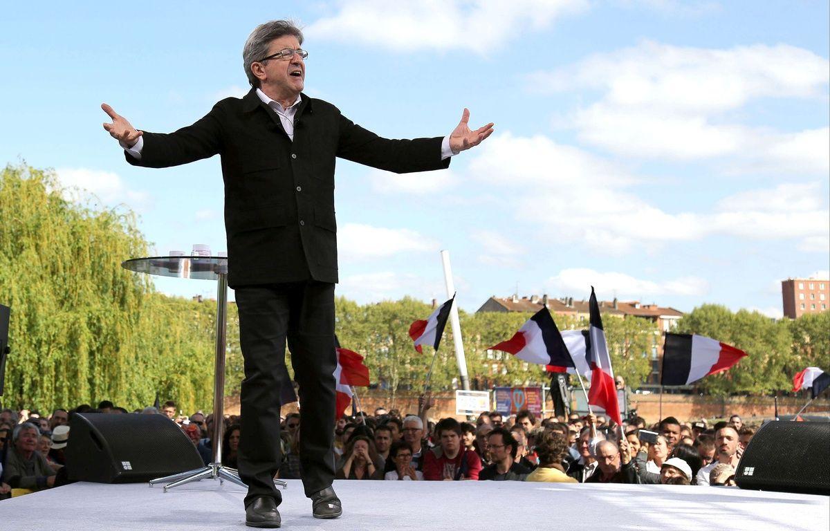 Jean-Luc Mélenchon à Toulouse le 16 avril 2017. – Jean-Marc Haedrich/SIPA