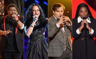 Les quatre finalistes de la dixième saison de « The Voice »