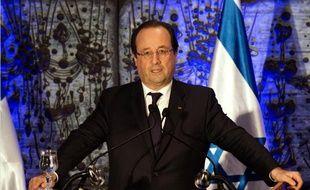 François Hollande àJérusalem, dimanche 17 novembre 2013.