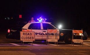 Une voiture de police aux Etats-Unis, illustration