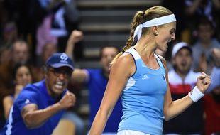 Mladenovic a qualifié (presque) à elle toute seule l'équipe de France en demi-finale de Fed Cup.