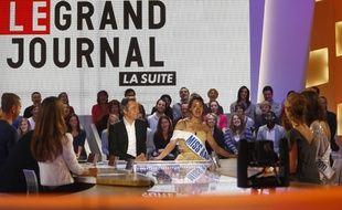 «Le Grand Journal» présenté par Michel Denisot en 2010.