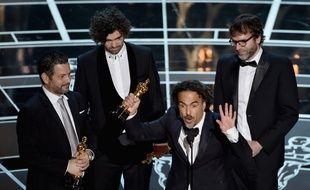 Alejandro Inarritu, Oscar du meilleur réalisateur pour «Birdman», le 22 février 2015.
