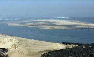 Le banc d'Arguin, classé réserve naturelle, est le plus vaste banc de sable de Gironde.