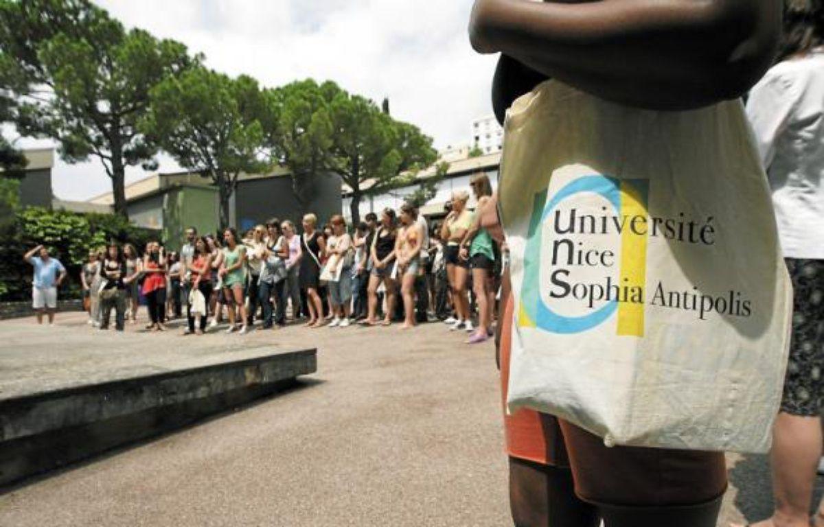 L'université internationale d'été a pris ses quartiers sur le campus niçois . –  J. C. MAGNENET / ANP / 20 MINUTES