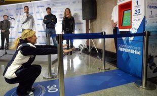 Les Moscovites peuvent accéder gratuitement au métro contre 30 flexions, jusqu'au 3 décembre 2013.