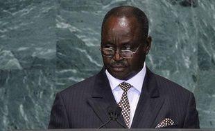 François Bozize, président de Centrafrique, aux Nations Unies le 22 septembre 2010