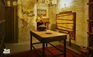 La salle d'escape game Fort Boyard de Team Break, à Lille.