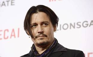 "Actor Johnny Depp attends the premiere of the feature film ""Mortdecai"" in Los Angeles on Wednesday, Jan. 21, 2015. (Photo by Dan Steinberg/Invision/AP Images)/INVW/662500565365/012115110227, 10038812, 185/1501220750"