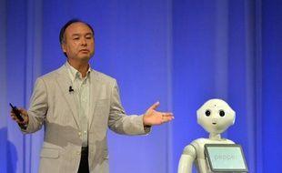 SoftBank avait présenté Pepper, en juillet dernier, à Tokyo.