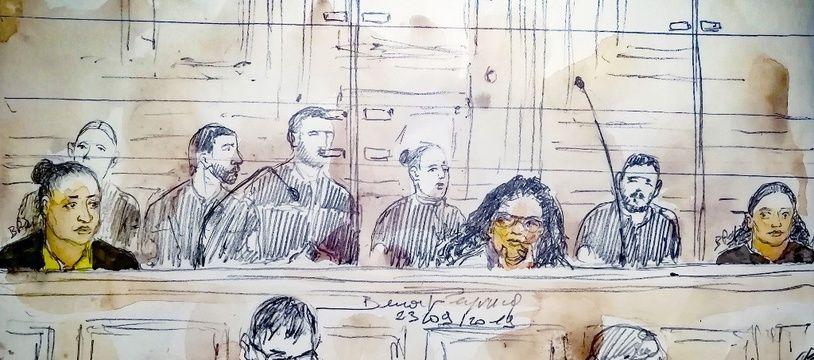 Inès Madani (à gauche) et Ornella Gilligmann (à droite) encourent la réclusion criminelle à perpétuité.