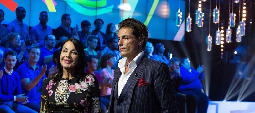 Giuseppe Polimeno et sa mère sur D8 en 2014