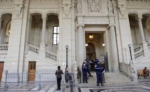 Illustration Palais de justice à Paris.