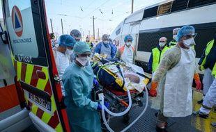 Départ le 3 avril d'un nouveau train médicalisé pour désengorger les hôpitaux et cliniques du Grand-Est.