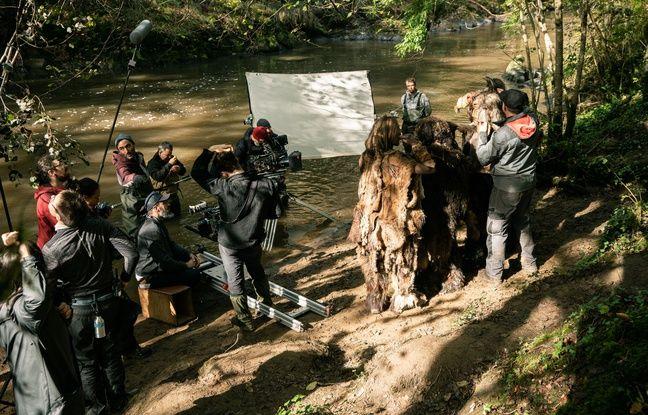 Les sites qui ont servi au tournage de la série préhistorique Moah, n'avaient encore jamais été montré à l'écran
