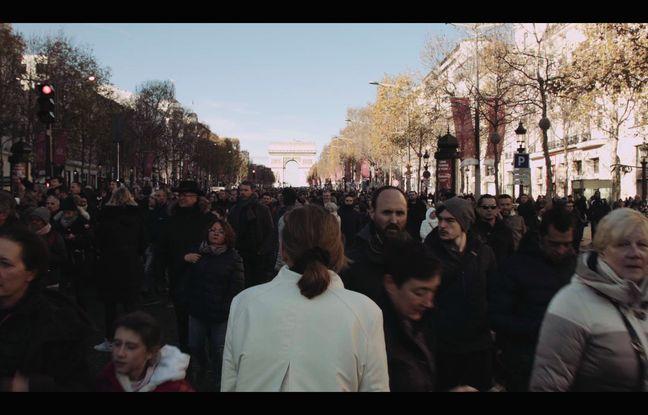 Photo de tournage «Paris est une fête»