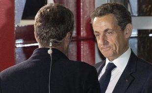 """Nicolas Sarkozy a affirmé jeudi, au lendemain de son débat avec François Hollande, que """"jamais une élection n'aura été aussi indécise"""", et que le résultat du second tour """"se jouera dans un mouchoir de poche""""."""