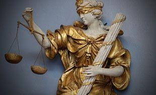 Illustration de la justice.