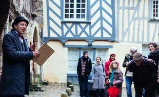 Des visites de Rennes sont également organisées par les crieurs d'amour.