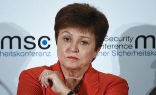 Kristalina Georgieva, patronne du FMI