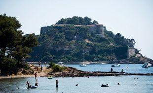 Le fort de Brégançon, dans le Var, est une résidence présidentielle. (archives)
