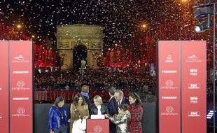 Les illuminations 2019 des Champs-Elysées.