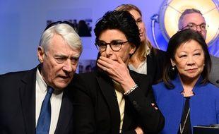 Rachida Dati (LR) candidate à la mairie de Paris