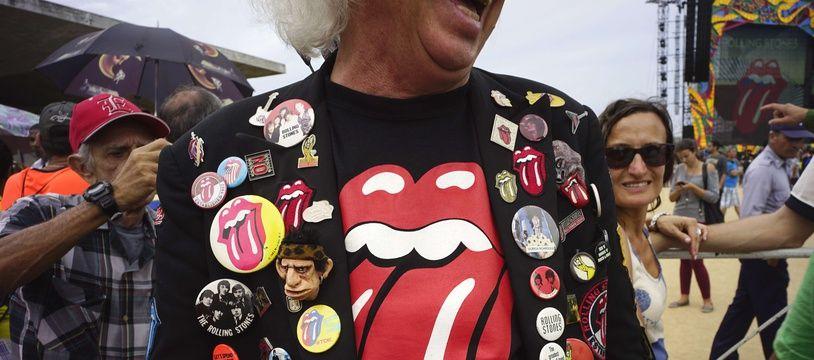 Un fan des Rolling Stones. (Illustration)