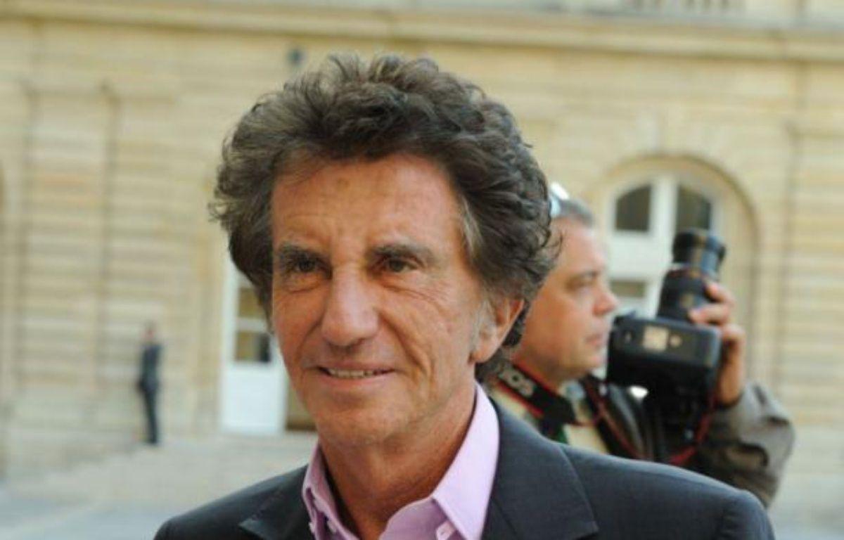 Le député du Pas-de-Calais Jack Lang, le 25 septembre 2011 àParis. – WITT/SIPA
