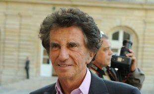 Le député du Pas-de-Calais Jack Lang, le 25 septembre 2011 àParis.