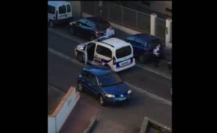 La scène a été filmée par un riverain et diffusée par France 3 Midi-Pyrénées.