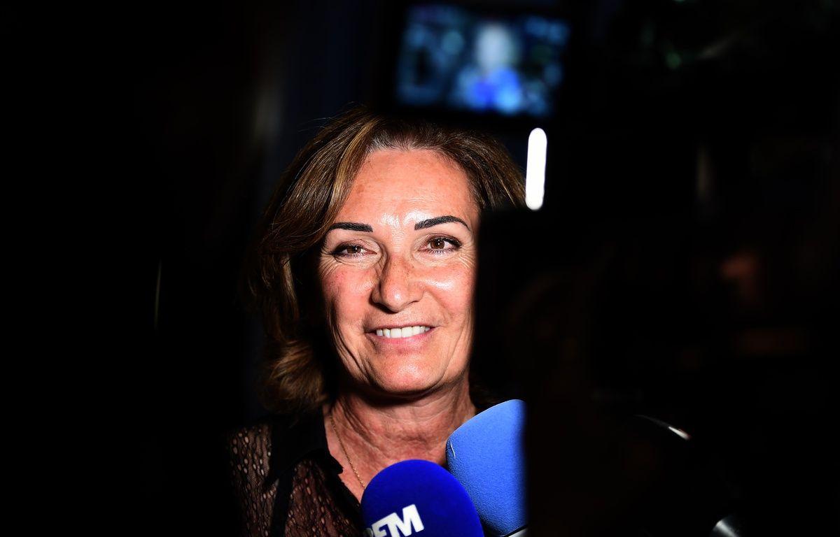 Corinne Versini après les résultats du premier tour, le 11 juin 2017.  – Boris Horvat