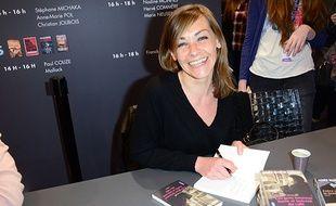 Agnès Martin-Lugand au Salon du livre 2016.