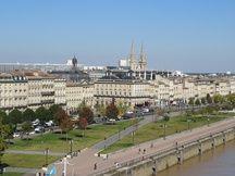 A Bordeaux le 29 septembre 2015, vue depuis les quais de Bordeaux.