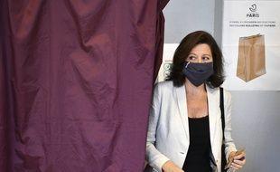 Agnes Buzyn, lors du second tour des élections municipales à Paris, le 28 juin 2020.