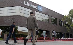 Le siège de LinkedIn à Mountain View, en Californie, le 8 mai 2014.