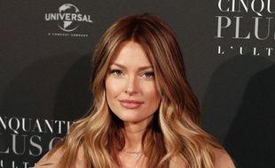 L'influenceuse Caroline Receveur à Paris en février 2018.