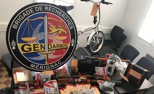 Les gendarmes sont à la recherche des propriétaires d'objets récupérés lors d'une enquête sur des cambriolages en Gironde et dans les Landes.