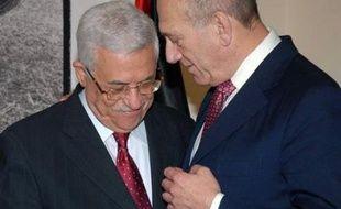 Une rencontre lundi entre M. Olmert et le dirigeant palestinien Mahmoud Abbas s'est achevée sans l'annonce de percée sur un rapprochement des points de vue concernant cette réunion.