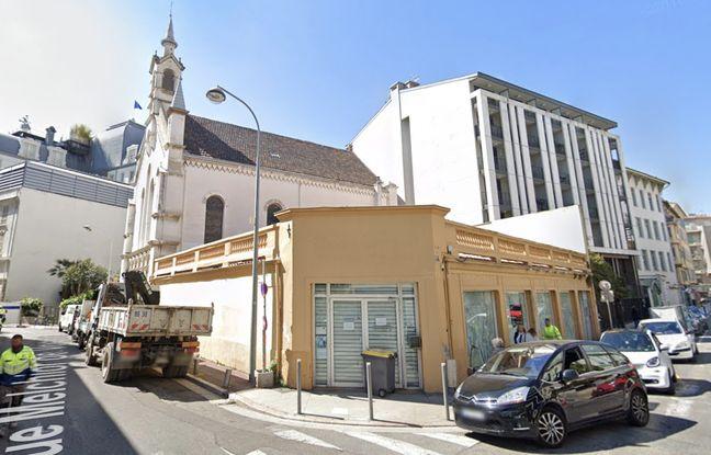 Le futur emplacement, en jaune, du magasin Ikea de centre-ville (rue Paul-Déroulède)