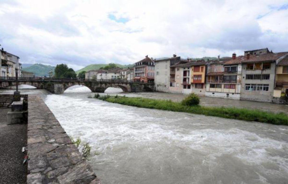 La ville de Saint-Girons (Ariège), le 23 mai 2013 – Pascal Pavani AFP