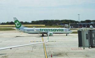 Un avion Transavia (illustration)