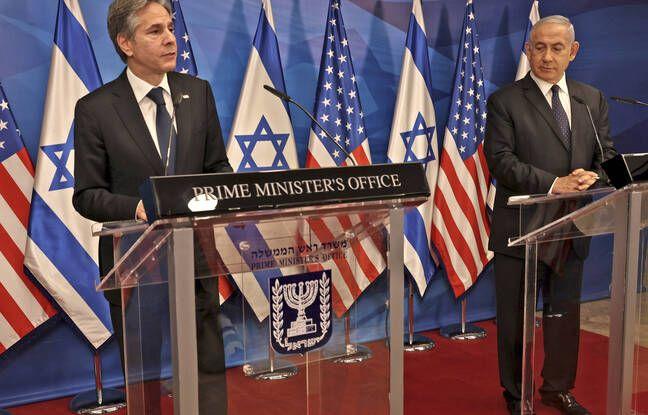 648x415 etats unis veulent eviter hamas beneficie reconstruction gaza affirme secretaire etat antony blinken lors conference presse premier ministre israelien