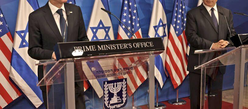 Les Etats-Unis veulent éviter que le Hamas bénéficie de la reconstruction de Gaza, a affirmé le secrétaire d'Etat Antony Blinken, lors d'une conférence de presse avec le Premier ministre israélien, Benjamin Netanyahu.