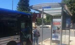 Un bus, à Montpellier.