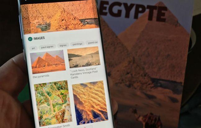 Bixby Vision peut aussi reconnaître des sites ou des monuments.